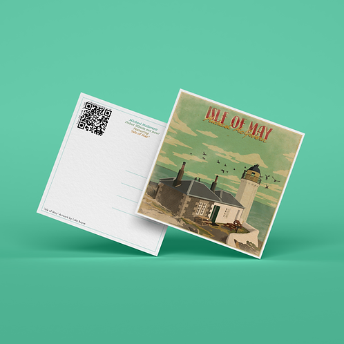 Limited Edition Isle of May Postcard (Pack of 10)