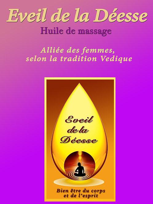 300ml Huile de massage , Eveil de la Déesse 300ml