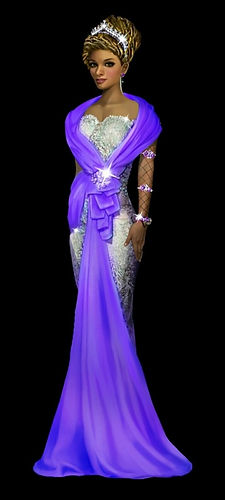 Nadira at the Nebulae Royal Ball