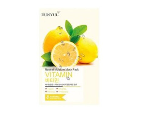 Korean Cosmetic Natural Moisture Mask Pack Vitamin