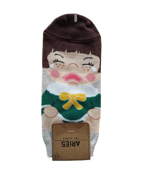 Crying Face Socks 12326