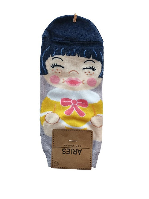 Happy Face Socks 12326