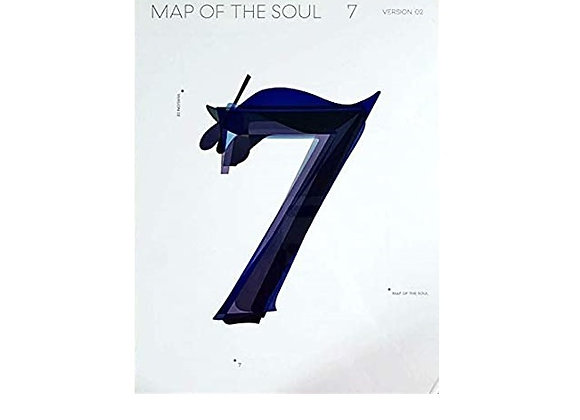 Album BTS Map Of The Soul 7 Version 2
