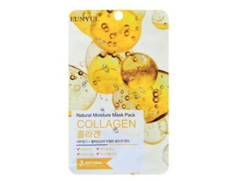 Korean Cosmetic Natural Moisture Mask Pack Collagen
