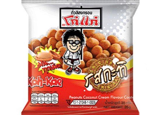 Peanuts Coconut Cream Flavour Coated 35g