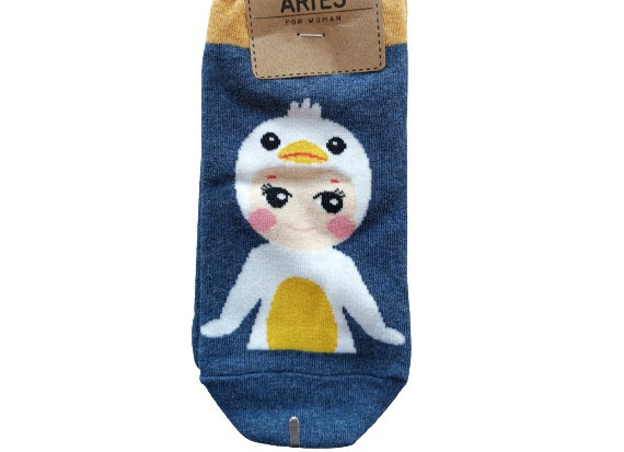 Baby Doll Navy  Socks 12326