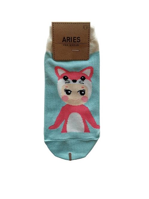 Baby Doll Mint Socks 12326