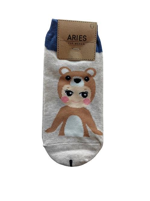 Baby Doll Oatmeal Socks 12326