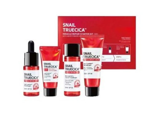 Korean Cosmetic Snail Truecica Miracle Stater Kit