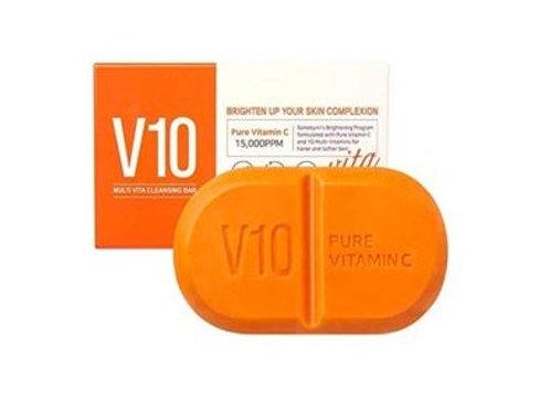 Korean Cosmetic Pure Vitamin C V10 Cleansing Bar