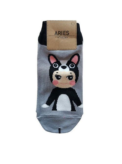 Baby Doll Gray Socks 12326