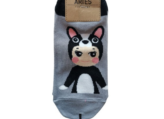 Baby Doll Gray Socks 12326