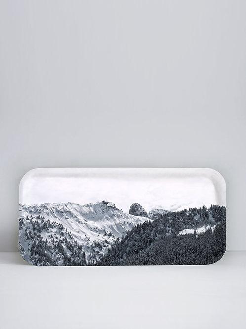 Plateau Courchevel 32x15 cm