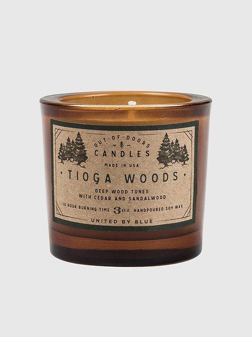 Bougie parfumée Tioga Woods