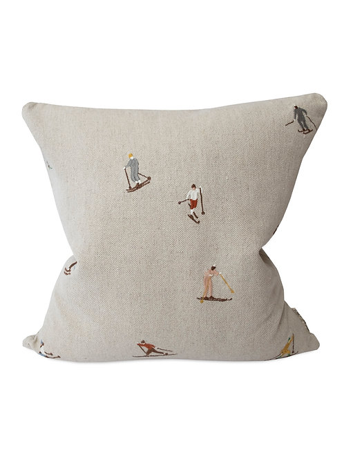 Coussin skieurs