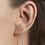 Thumbnail: Paire de boucles d'oreilles MARIUS