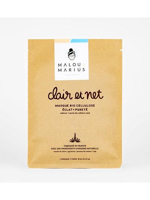 Masque éclat & pureté - Clair et net