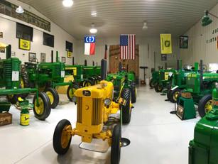 Over 26 fully restored John Deere Tractors