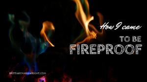 How I came to be fireproof title card