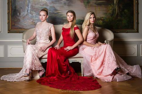 Photographer: Pierre Panitar, Models: Lola Ack, Jessica Decock, Cassandre Lamarche