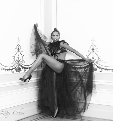 Photographer: Kitty Cohen, Model: Nirmala Fernandes