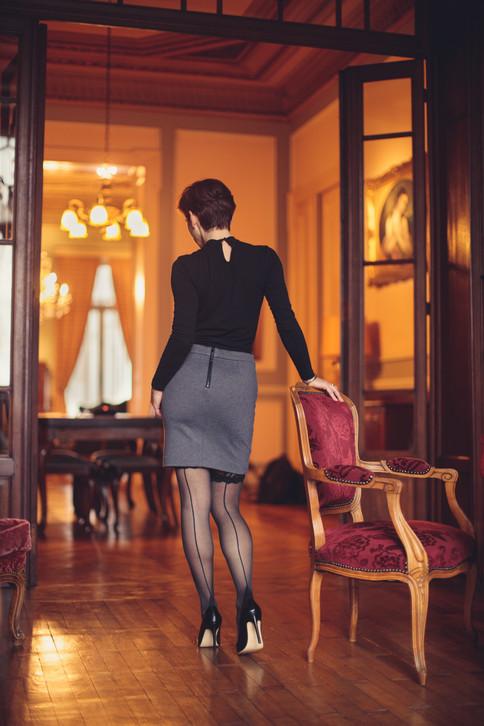 Photographer: Bruno Winnen Model: Isabelle Lodetti