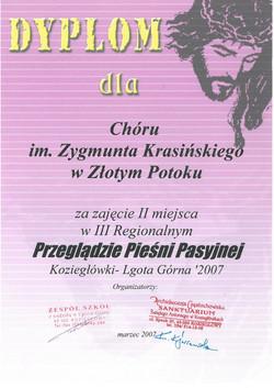 koziegłówki_dyplom_2007
