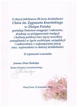 20-lecie_Joanna_Haładyn