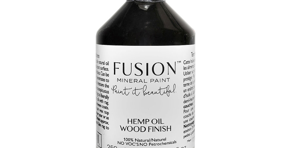 Hemp oil Finish