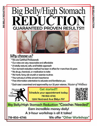 Big Belly/High Stomach Reduction