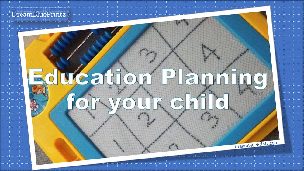 Education Planning, Saving for child's education