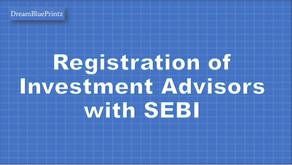 Applying for SEBI Registered Investment Advior