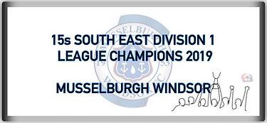15 SE Division 1 League Champions 2019.j