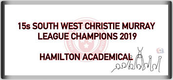 15s SOUTH WEST CHRISTIE MURRAY League Ch