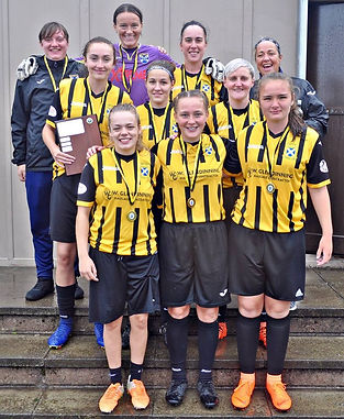 East Fife Ladies Robertson and Wight win