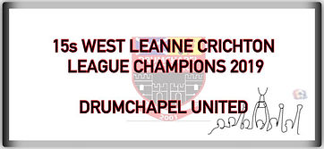 15 West Leanne Crichton League Champions