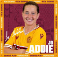 Motherwell have signed experienced centre back Jo Addie...