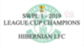SWPL 1 League Cup Champions 2019 HIBERNI