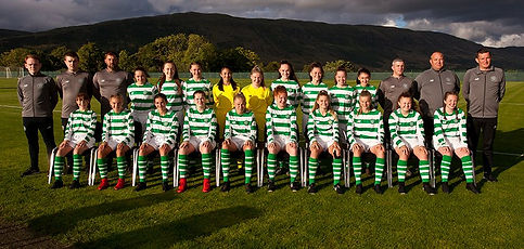 Celtic FC Women 15s NP League Cup Winner