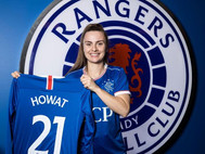 Kirsty Howat delighted to sign for Rangers...