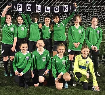 13s League Champions 2018 Pollok United