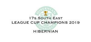 17s SE League Cup Winners 2019 Hibernian