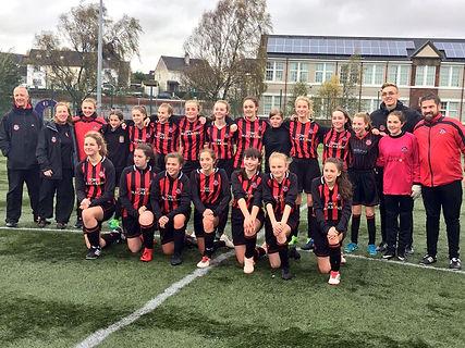 15s Giffnock SC Girls