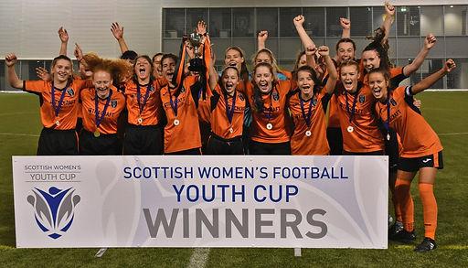 17s Glasgow City FC Scottish Cup Champio