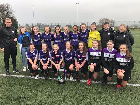 Glasgow Girls FC 15s League Champions 20