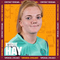 Motherwell have secured the signature of Kodie Hay for another season...