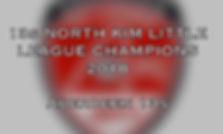 13s North Kim Little League Champions 20