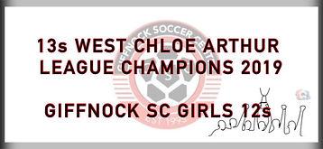 13 West Chloe Arthur League Champions 20