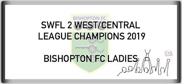 SWFL2 WEST CENTRAL LEAGUE CHAMPIONS 2019