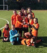 13s Chloe Arthur League Champions 2018 G